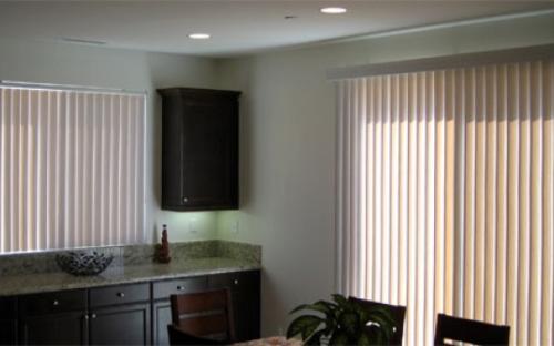 Вертикальные алюминиевые шторы 89 мм