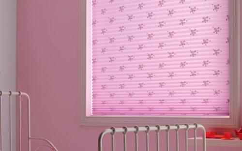 """Плиссированные двойные шторы, модель """"АО""""."""