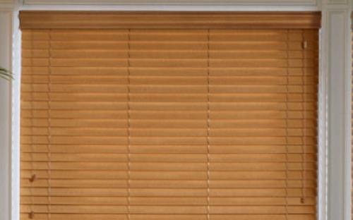 Деревянные горизонтальные шторы 25 мм