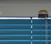 """Наружные ламельные горизонтальные шторы, модель """"С""""."""